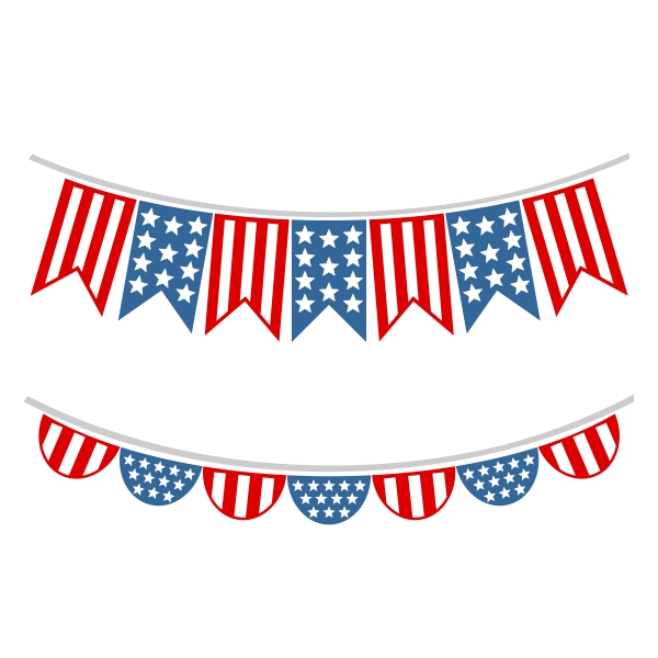 th of july. America clipart ribbon