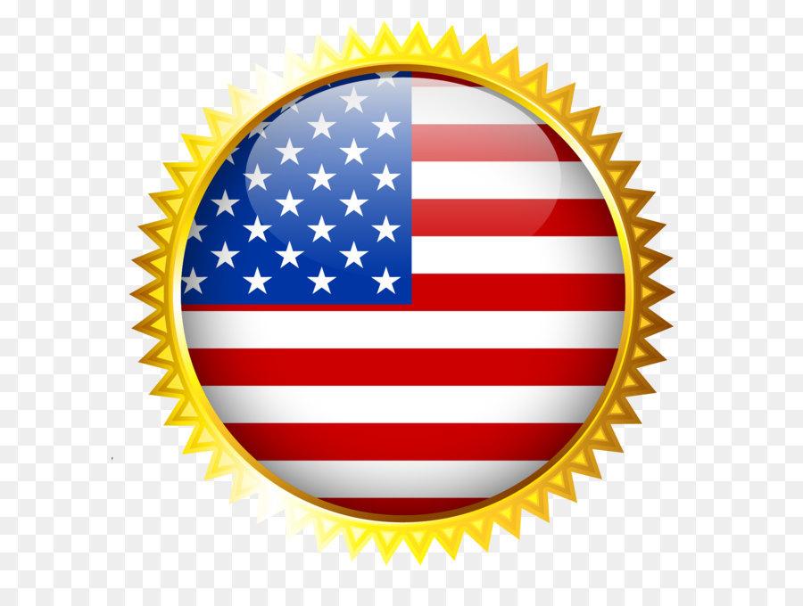 America clipart ribbon. Award prize gold medal