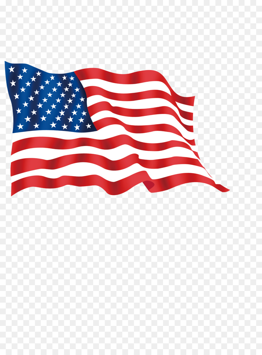 Flag of the united. America clipart ribbon