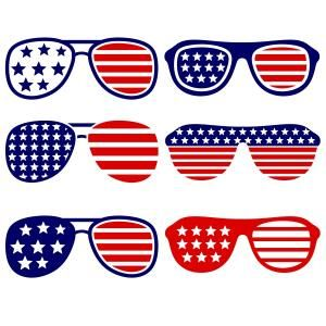 Clipart sunglasses red white blue. Pin by cuttabledesigns on