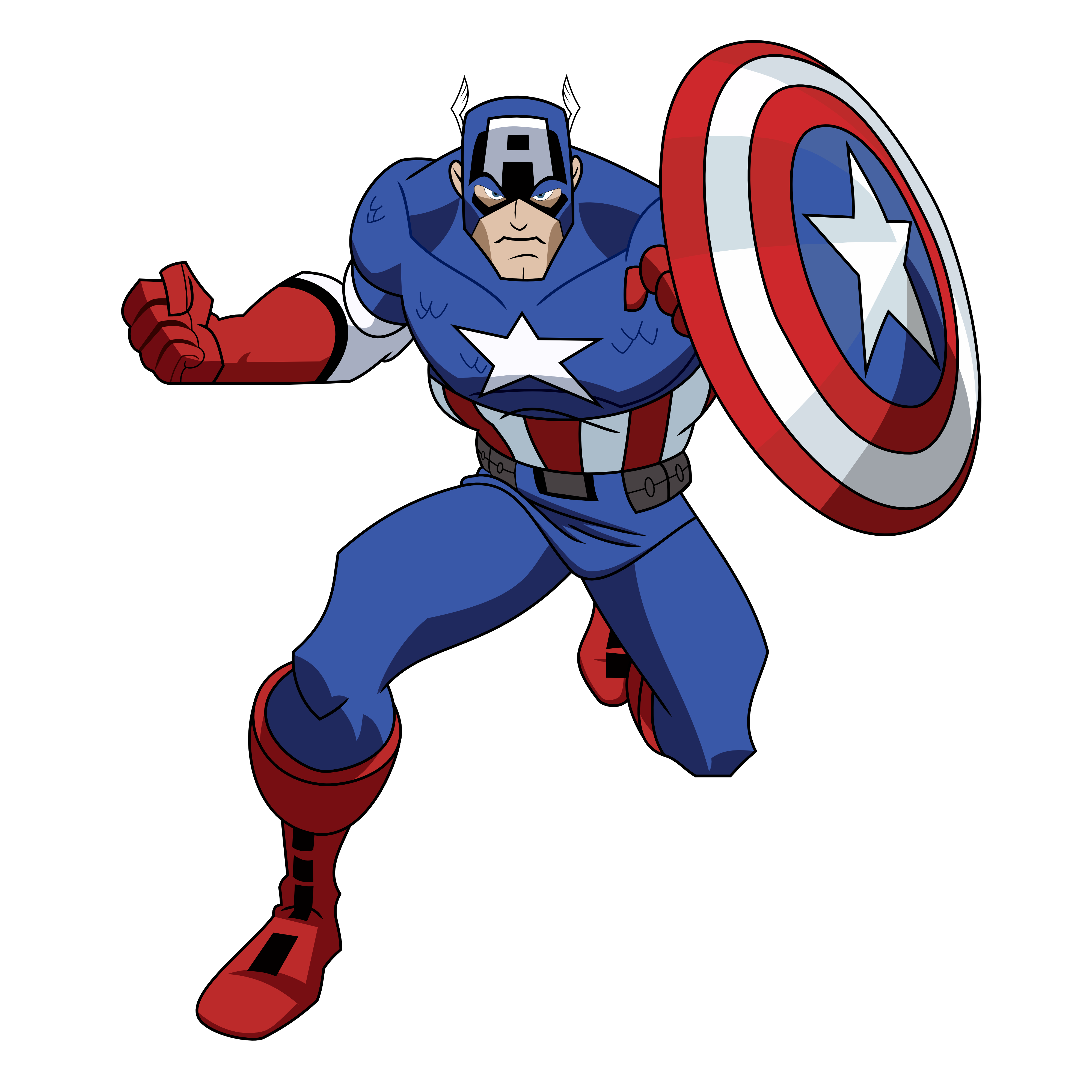 R clipart american. Captain america ipzkr at