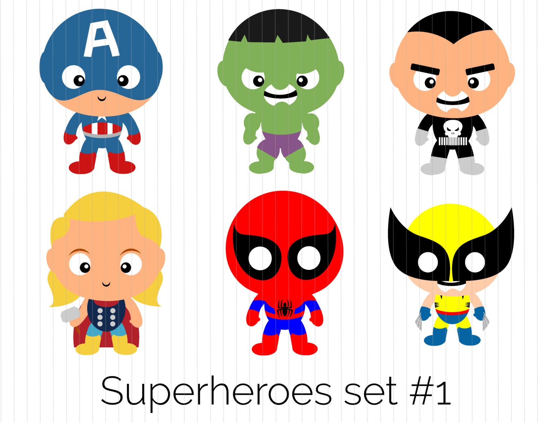 Captain hulk punisher thor. America clipart superhero