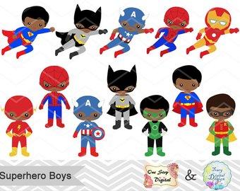 America clipart superhero. Boy etsy boys digital