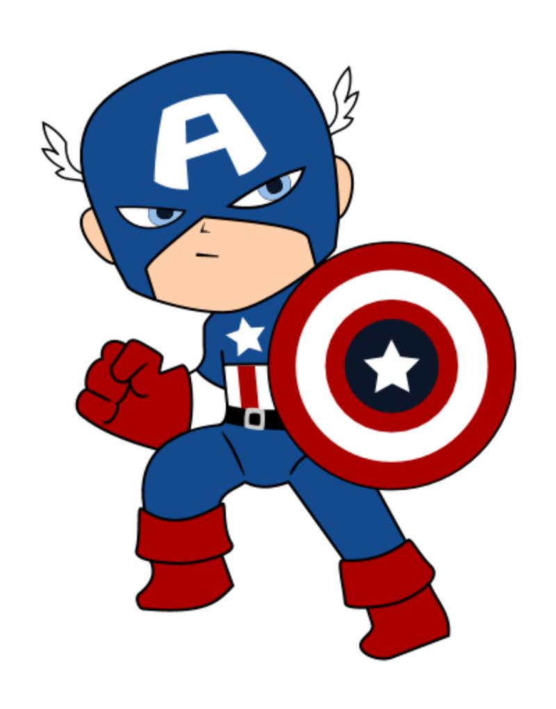 Captain cricut pinterest capt. America clipart superhero