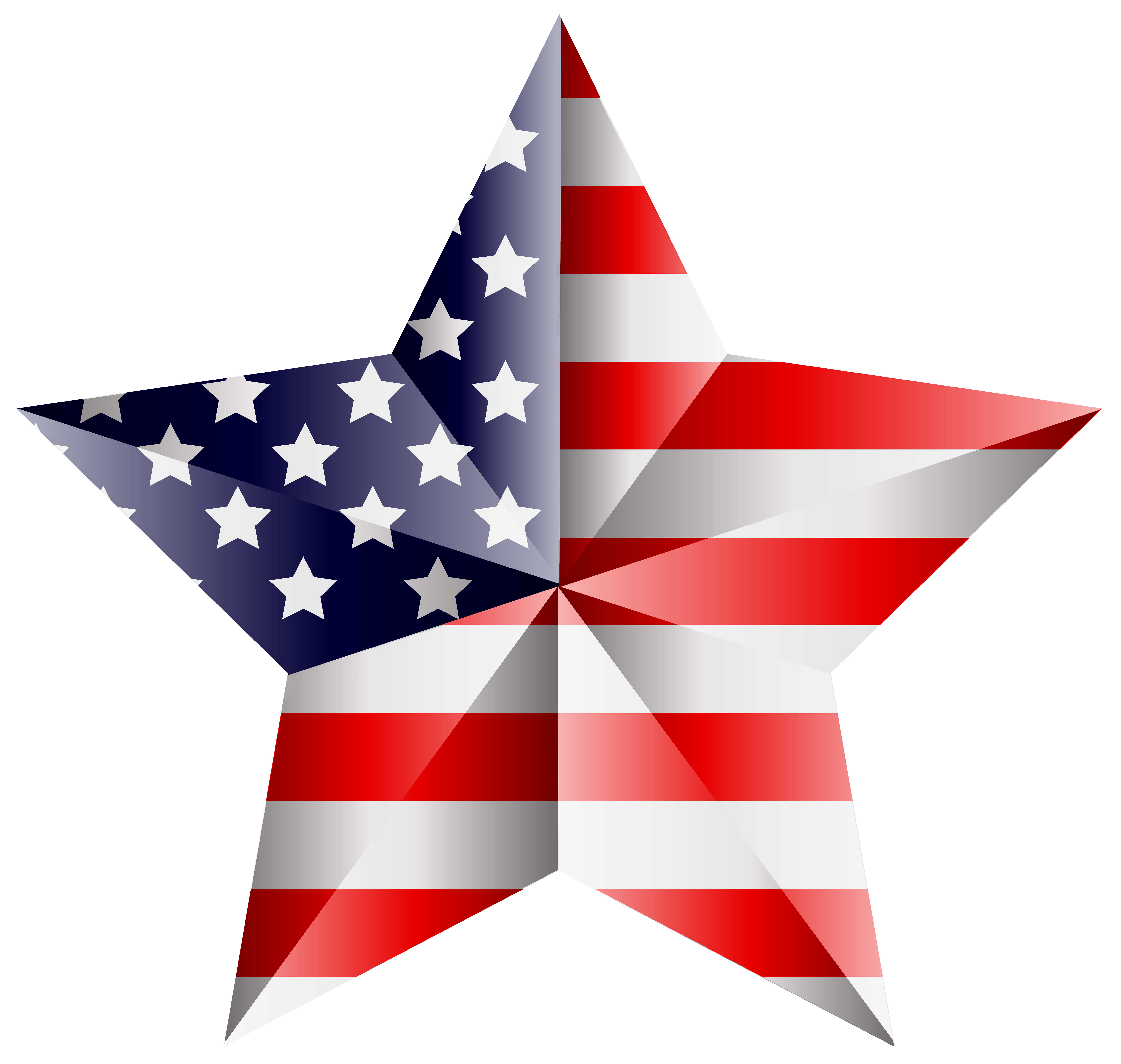Clipart bow flag american. Star transparent png clip