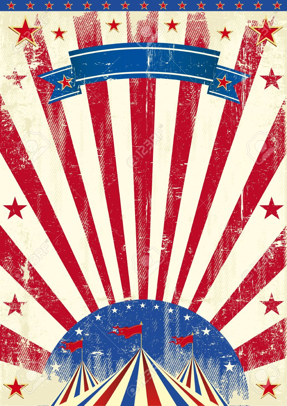 America clipart vintage. Process of american elections