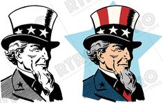 America clipart vintage. A patriotic graphic banner