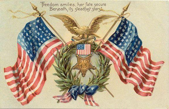 America clipart vintage.  best memorial day