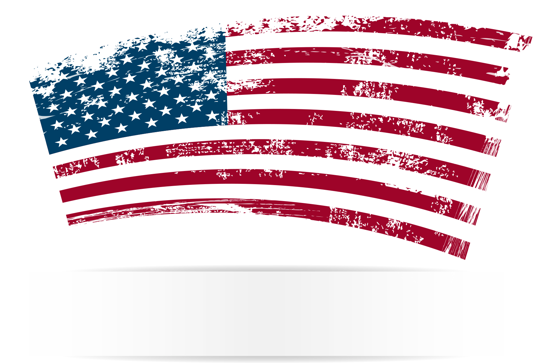 Lotion spray bottle high. American flag vector png