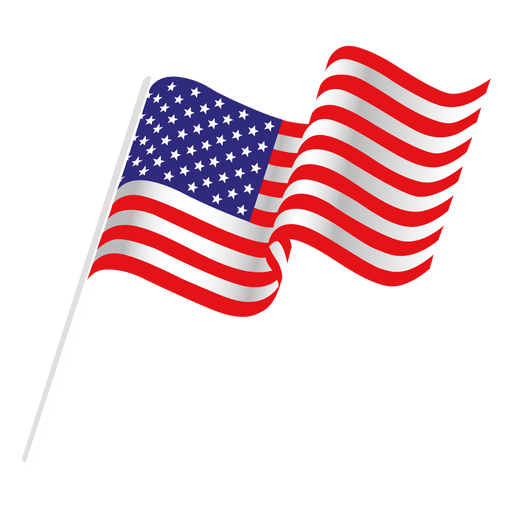 American flag vector png. Waving usa transparent svg