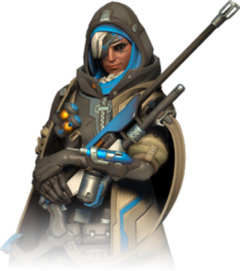 Heroes ginfo edition. Ana overwatch png