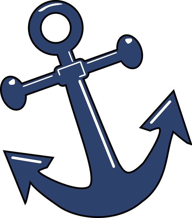 Clipart anchor outline. Png images free download