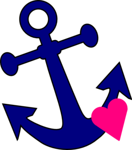 Anchor clipart ancor. With heart clip art