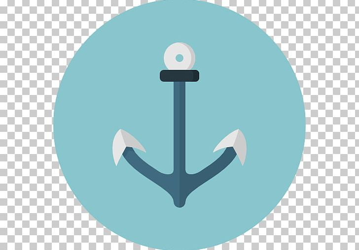 Computer icons symbol png. Anchor clipart aqua