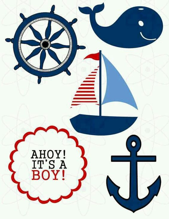 Anchor baby shower