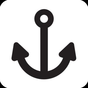 Anchor clipart basic. Clip art at clker