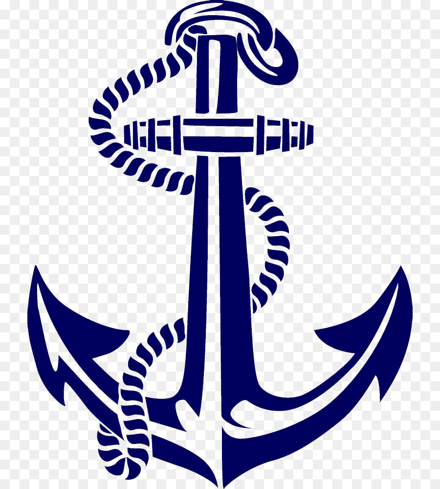 Anchor clipart boat anchor. Clip art hand painted