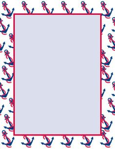 Anchor clipart borders.  images of nautical
