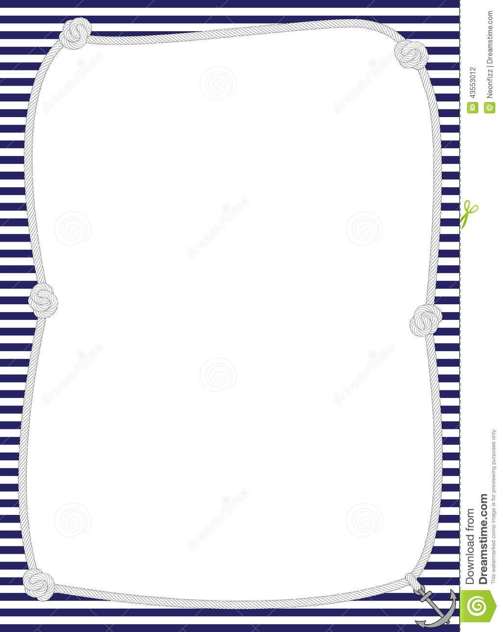 Border kid page pinterest. Anchor clipart borders