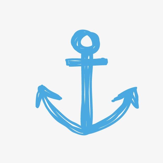 Anchor clipart cartoon. Blue anchors png image