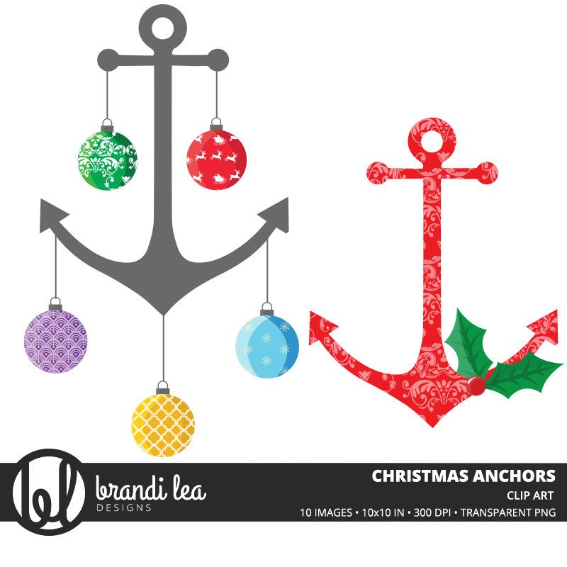 Pin by debra griffin. Clipart anchor christmas