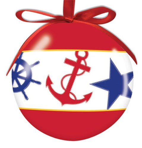 Ornaments beachfront decor nautical. Clipart anchor christmas