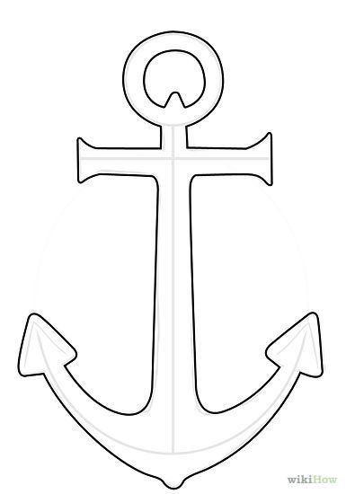 Anchor clipart easy. Drawing simple google search