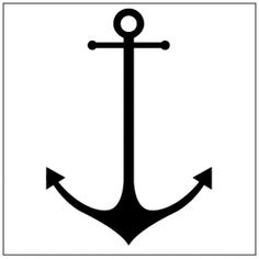 Gallery for stencil printable. Anchor clipart easy