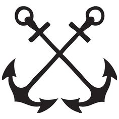Camargue cross worn by. Anchor clipart french