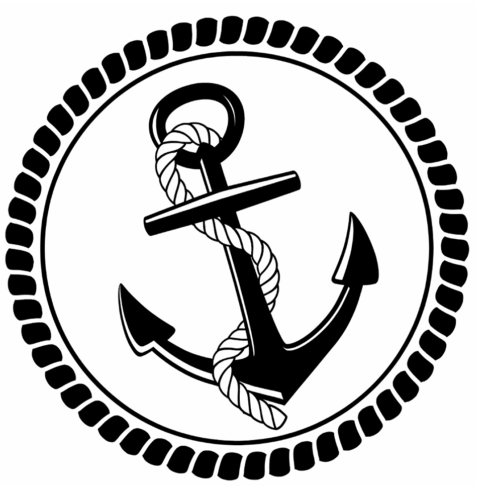 Anchors away vintage cabinet. Anchor clipart french