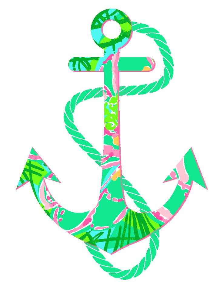best anchors illustrations. Anchor clipart girly