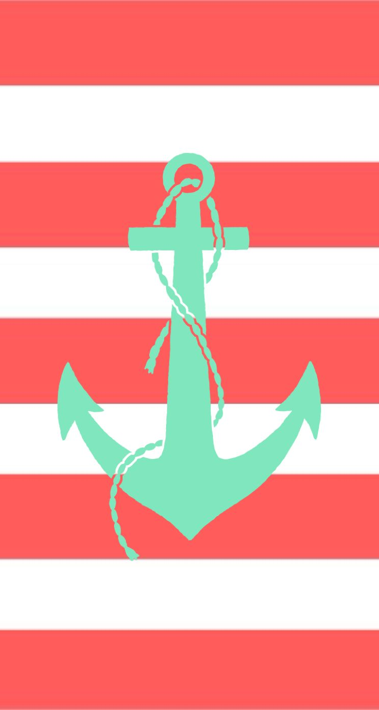 tap and get. Anchor clipart girly