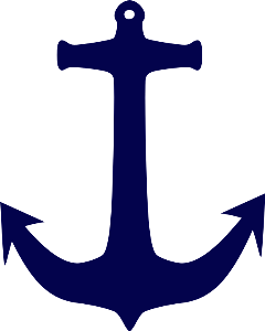 Navy gold freetoedit more. Anchor clipart glitter