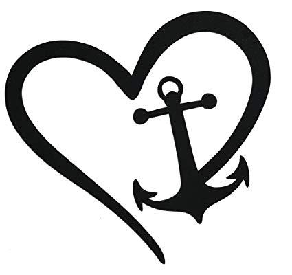 Wickedgoodz die cut heart. Hearts clipart anchor