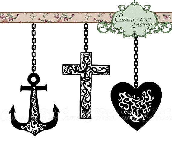 Charity clip art free. Anchor clipart hope