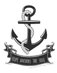Anchor clipart hope. Catholic craft projects symbols