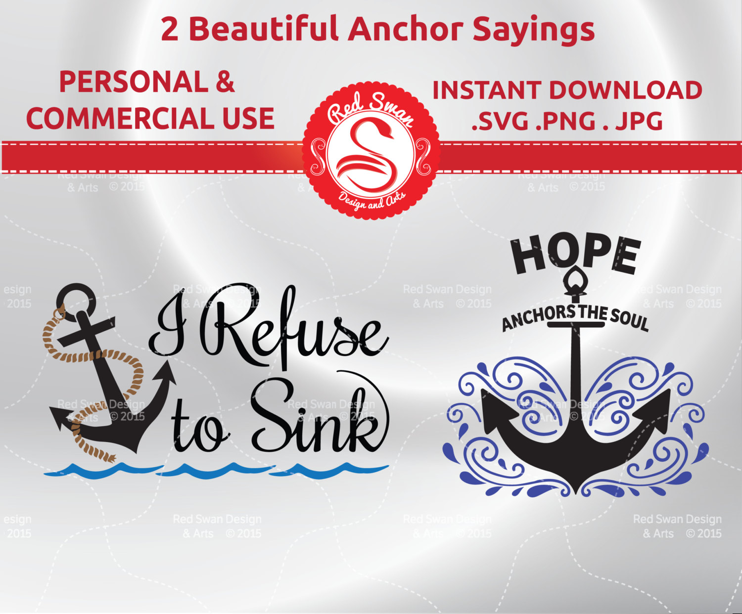Quotes i refuse to. Anchor clipart hope