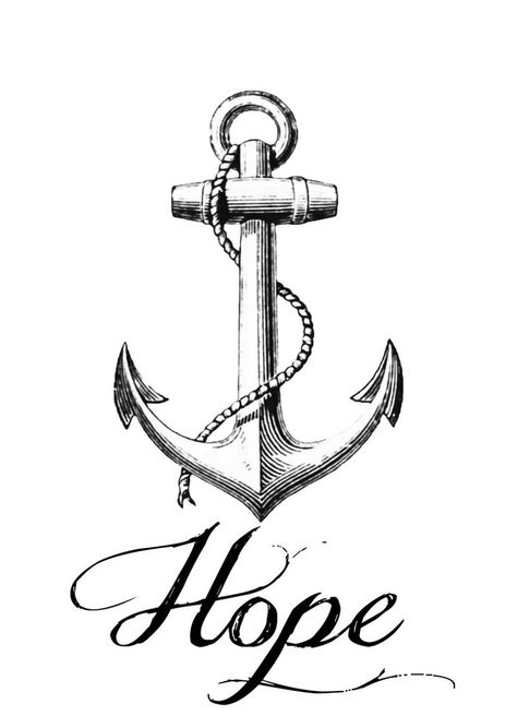 Pinterest . Anchor clipart hope