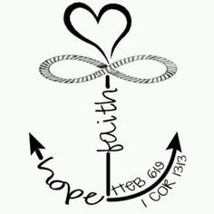 Faith love children ministry. Anchor clipart hope