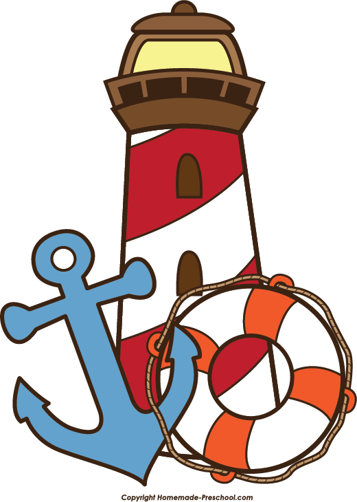 Number 1 clipart nautical. Free lighthouse ready for
