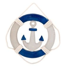Anchor clipart life preserver. Decor ebay new wood