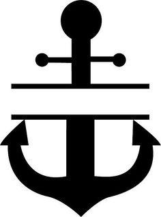 Free chevron design google. Anchor clipart monogram