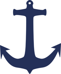 Navy blue clip art. Clipart anchor usn