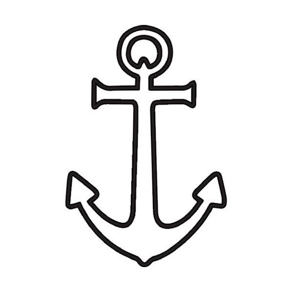 Anchor clipart outline. Download image of clip