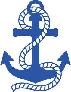 Anchor clipart printable. Free nautical clip art