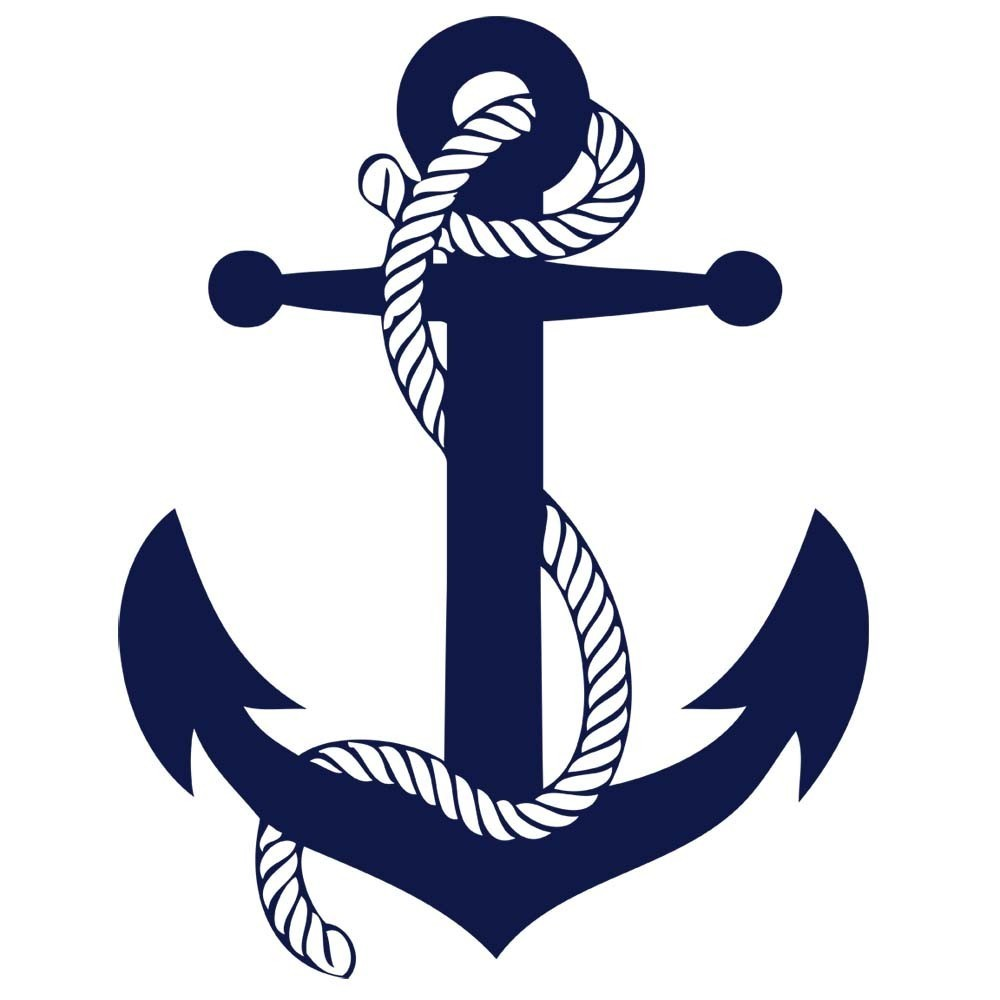 Navy clipart navy blue anchor. Free vector download clip