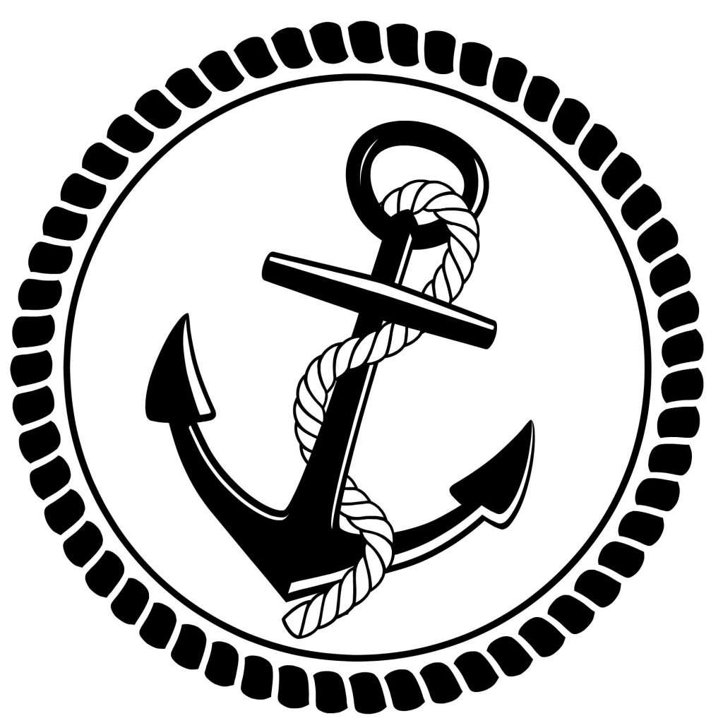 Anchor clipart rope. Best photos