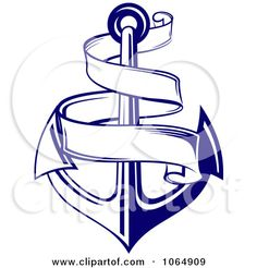 Sinking in water black. Anchor clipart sea anchor