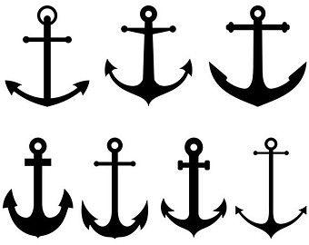 Anchor clipart sea anchor. Clip art nautical with