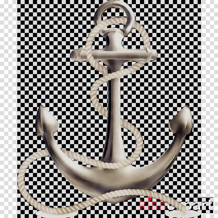 Metal background transparent . Anchor clipart ship anchor